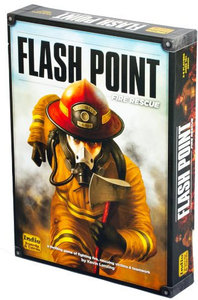 Flash Point: Fire Rescue: Second Edition (Board Game) - Cover