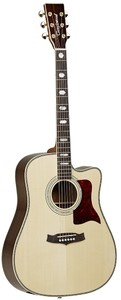 Tanglewood TW1000 CE Sundance Pro Dreadnought Acoustic Electric Guitar (Natural)