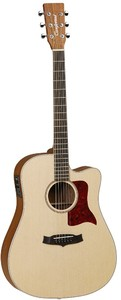 Tanglewood TW15 OP CE Sundance Natural Dreadnought Acoustic Electric Guitar (Open Pore)