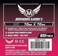 Mayday Games - Small Square Card Sleeves (100 Sleeves) - Cover