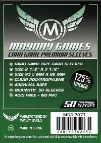 Trading Card Game Sleeves Dark Green Pack of 50 Sleeves - Cover