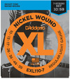 D'Addario 10-59 Nickel Wound Regular Light 7 String Electric Guitar Strings