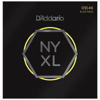 D'Addario NYXL 09-46 Nickel Wound Super Light Top Regular Bottom Electric Guitar Strings