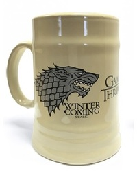 Game of Thrones - House Stark Ceramic Beer Stein - Cover