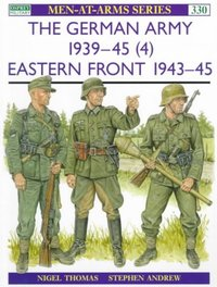 German Army, 1939-45 - Nigel Thomas (Paperback) - Cover