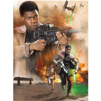 Star Wars: Episode VII - Finn Art Canvas (80x60cm)