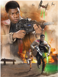 Star Wars: Episode VII - Finn Art Canvas (80x60cm) - Cover