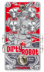DigiTech DirtyRobot Stereo Mini-Synth Guitar Effects Pedal - Cover