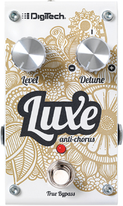DigiTech Luxe Anti-Chorus Polophonic Detune Effects Pedal - Cover