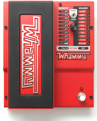 DigiTech Whammy 5th Gen Guitar 2-Mode Pitch-Shift Effects Pedal with True Bypass - Cover