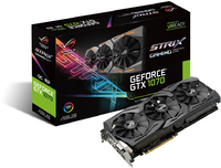 ASUS Strix nVidia GeForce GTX 1070 8GB GDDR5 OC Edition Graphics Card - Cover