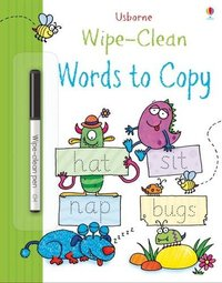 Wipe-Clean Words to Copy - Jessica Greenwell (Paperback) - Cover