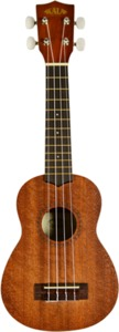 Kala KA-15S Satin Mahogany Series Acoustic Soprano Ukulele (Natural) - Cover