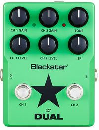 Blackstar LT DUAL LT Pedal Series Guitar Dual Distortion Pedal - Cover