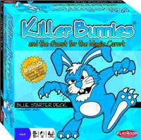 Killer Bunnies and the Quest for the Magic Carrot Blue - Cover