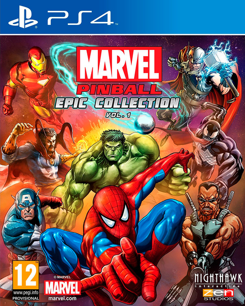 Kết quả hình ảnh cho Marvel Pinball Epic Collection Vol 1 cover ps4
