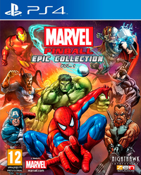 Marvel Pinball - Epic Collection Volume 1 (PS4) - Cover