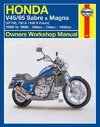 Honda V45/65 Sabre and Magna (Vf700, 750 and 1100 V-Fours) - J. H. Haynes (Paperback)