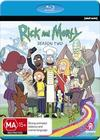 Rick and Morty - Season 2 (Blu-ray) Cover