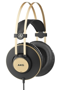 AKG K92 Closed-Black Studio Headphone - Cover