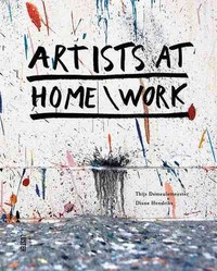 Artists At Home/Work - Thijs Demeulemeester (Hardcover) - Cover
