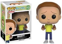 Funko Pop! Animation - Rick and Morty: Morty Vinyl Figure - Cover
