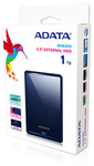 ADATA HV620S Series 1TB USB 3.0 External Hard Drive 2.5 inch Slim - Blue