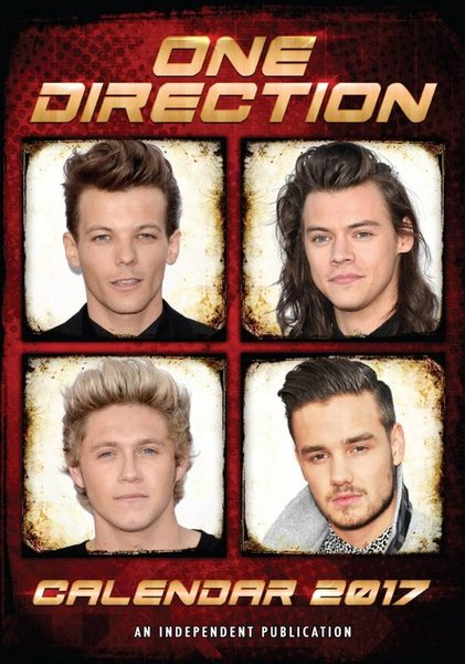 2017 Calendar - One Direction