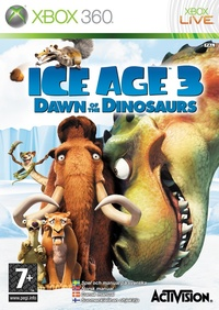 Ice Age 3: Dawn of the Dinosaurs (Xbox 360) - Cover