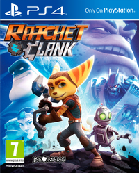 Ratchet & Clank (PS4) - Cover