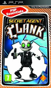 Secret Agent Clank (PSP Essentials) - Cover