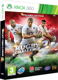 Rugby Challenge 3 (Xbox 360) - Cover