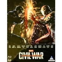 Captain America: Civil War - Steelbook (3D Blu-ray)