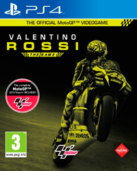 Valentino Rossi: The Game (PS4) - Cover