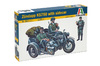 Italeri - 1/35 Zundapp with Sidecar (Plastic Model Kit)