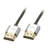 Lindy 0.5m HDMi M to M Slim Cromo Cable