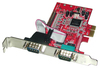 Lindy 2-Port Serial - 1-Port Parallel PCI Express