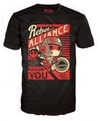 Funko Pop! Star Wars: PO Dameron Rebel Alliance Mens T-Shirt (Large) Cover