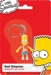 Bart Simpson Bendable Keychain