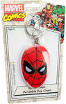 Spider-Man Face Bendable Keychain