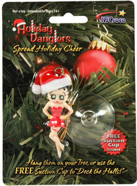 Betty Boop 3D Holiday Dangler - Cover