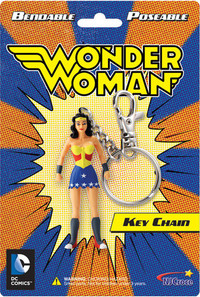 Wonder Woman Bendable Keychain - Cover