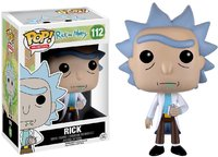 Funko Pop! Animation - Rick and Morty Rick Vinyl Figure - Cover