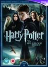 Harry Potter and the Half-blood Prince (DVD) Cover
