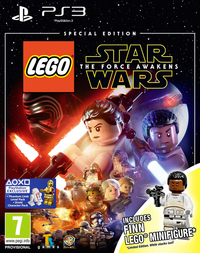 LEGO Star Wars: The Force Awakens (PS3) - Cover
