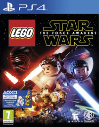 LEGO Star Wars: The Force Awakens (PS4) - Cover
