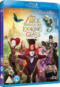 Alice Through The Looking Glass (Blu-ray) - Cover