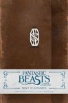 Fantastic Beasts and Where to Find Them Newt Scamander Hardcover Ruled Journal - Insight Editions (Hardcover) Cover