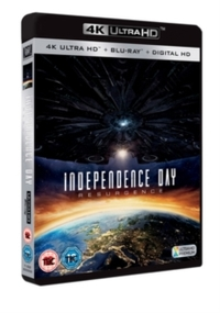 Independence Day: Resurgence (4K Ultra HD + Blu-ray) - Cover