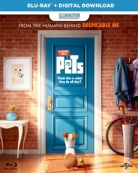 Secret Life of Pets (Blu-ray) - Cover